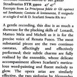 Scarlatti Early Music Review febbraio 2014